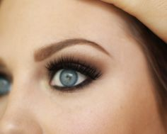 Smoky Eye, Flutter Lashes, Mink Lashes, Brows.  Makeup by Sunkissed & Made Up