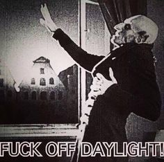 LOL, night owls unite! #Nosferatu