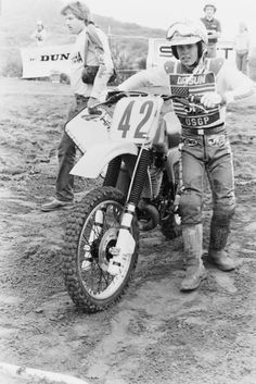 Through the numbers, through the years. Off Road Moto, Off Road Bikes, Off Road Racing, Enduro Motocross, Motorcycle Racers, Motocross Racing, Vintage Motocross, Vintage Racing, Cool Motorcycles