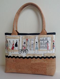 Cork and Cotton Natural Eco Friendly Handbag by MyCottonHouse
