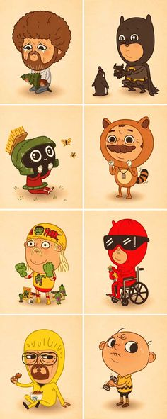Mike Mitchell personajes pop