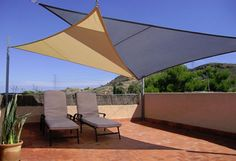 garden shade sail triangle sand colour, fabric outdoor shade sail for UV and sun protection, Garden Shade Sail, Garden Sail, Sun Sail Shade, Patio Shade, Pergola Shade, Pergola Patio, Shade Sails, Sun Sails, Sail Canopies