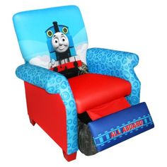 Magical Harmony Kids Recliner - Thomas The Tank Engine