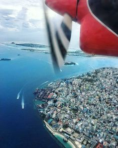 The Maldives Island - Capital City Male' #Maldives