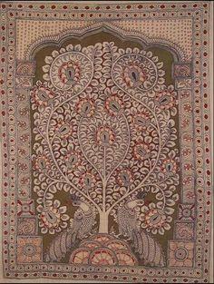 Indian Painting Styles...Kalamkari Paintings (Andhra Pradesh)-tree-of1.jpg