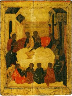 Праздничный чин Благовещенского собора. Прохор. Тайная вечеря