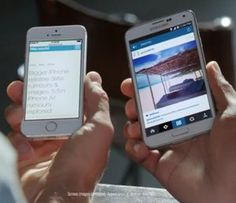 May 2014 findings move Samsung to mock Apple and say 'bigger is better'