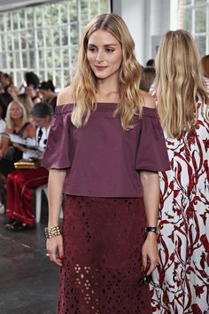 Olivia Palermo Photos Photos - Olivia Palermo attends the Tibi fashion show during New York Fashion Week at Industria Studios on September 10, 2016 in New York City. - Tibi - Front Row - September 2016 - New York Fashion Week