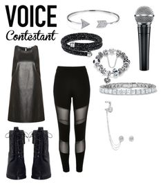 """Untitled #18"" by andreea-pandicorn ❤ liked on Polyvore featuring Dex, River Island, Zimmermann, Bling Jewelry, Swarovski, Messika, thevoice and YahooView"