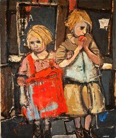 carga-de-agua: Joan Eardley (1921-1963).