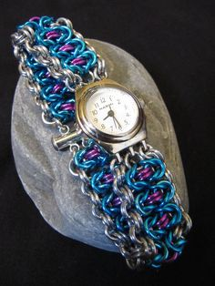 chainmail watch band - Google Search