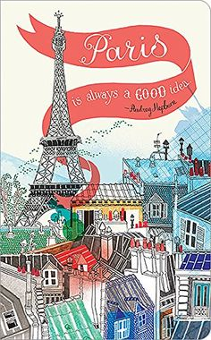 Paris notebook cover illustration by hennie haworth director Tour Eiffel, Torre Eiffel Paris, Paris Eiffel Tower, Paris 3, I Love Paris, Paris City, Image Paris, My Little Paris, Paris Ville