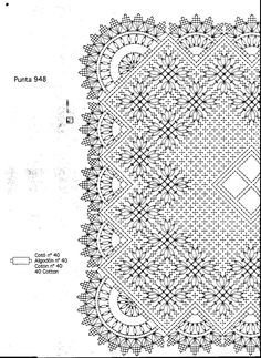 Archivo de álbumes Bobbin Lace Patterns, Crochet Patterns, Bobbin Lacemaking, Needle Lace, Stained Glass Patterns, Lace Making, Textile Art, Weaving, Album