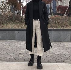 Adrette Outfits, Korean Outfits, Retro Outfits, Cute Casual Outfits, Fall Outfits, Black Outfits, Grunge Outfits, Winter Fashion Outfits, Look Fashion