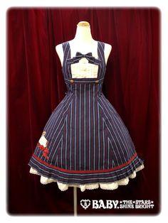 Alice and the Pirates - JSK - Love Air Mail Applique JSK /// ¥22,890 /// Bust:  88~100 cm Waist:  70~82 cm Length:  97 cm