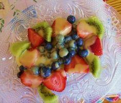 Creamy Vegan Fruit Salad Dressing. The best I've ever had. Two ingredients: coconut milk & dried fruit