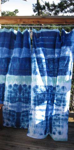 Tie Dye Curtains On Pinterest Dye Curtains Dip Dye