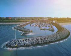 De jachthaven van Cadzand vordert gestaag