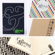 Collected & Co. by Micador Hard Cover Notebook A5 $6.00