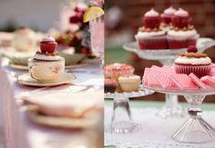 Mesa de doces fofa de cupcakes!