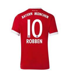 Billiga Bayern Munchen Arjen Robben 10 Hemmatröja 17-18 Kortärmad Munich, Sports, Tops, Bavaria, Hs Sports, Sport, Monaco