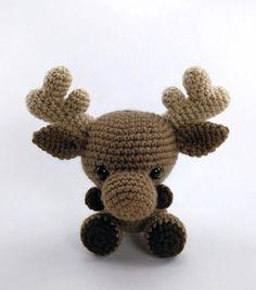 Myles The Moose Amigurumi Pattern
