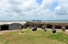 Take the boat tour to this fort in the harbor to see where the first shots of the Civil War were fir... - Fort Sumter National Monument