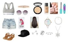 """""""Sports Bra"""" by paradise-queen on Polyvore featuring Calvin Klein, BLANKNYC, Topshop, Monki, Miss Selfridge, Brixton, Dsquared2, Amanda Rose Collection, Bling Jewelry and Carolee"""