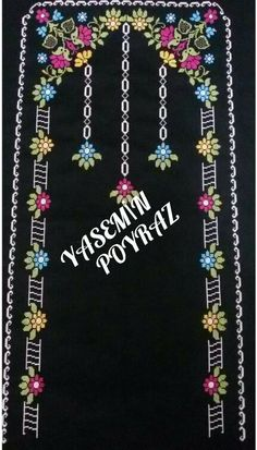 This Pin was discovered by HUZ Cross Stitch Flowers, Cross Stitch Patterns, Hobbies And Crafts, Diy And Crafts, Prayer Rug, Filet Crochet, Baby Knitting Patterns, Hand Stitching, Hair Accessories