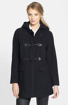 Nlst Toggle Twine Hooded Coat Nude | Duffle coat