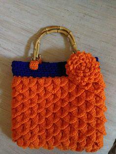 Fun to make Crochet Purse - Go Gators!