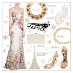 """""""Love for colorful embroidery"""" by bonnielindsay ❤ liked on Polyvore featuring Alexander McQueen, Badgley Mischka, Edie Parker, Charlotte Olympia, Theia Jewelry, Alexis Bittar, Ben-Amun and John Lewis"""