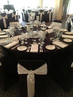3 Tiered Silver Centrepiece Perfect For This Black White And Diamond Theme