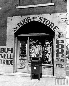 the Depression         The original Dollar Store