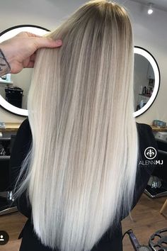 18 Grey Ombre Hair Ideas To Rock This Year 2019 Here we have collected the best ombre Gray Hair Tones for your best looks. Mostly girls didnt like dark gray so we have added some texture of ombre and caramel to give you a classy looks in crowd. Grey Hair Tones, Grey Ombre Hair, Blonde Hair Shades, Blonde Hair Looks, Blonde Hair With Highlights, Brown Blonde Hair, Hair Color Balayage, Blonde Honey, Peekaboo Highlights