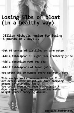 Jillian Michaels detox.