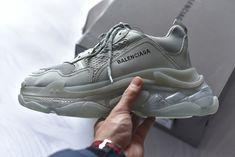 8d7d0a2a4a Balenciaga Triple S Clear Sole Trainers Where to Buy Balenciaga Speed  Trainer, Bow Sneakers,