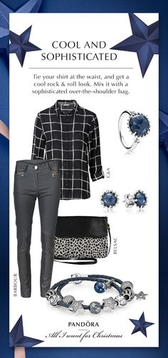 Casual, Cool and Christmas #PANDORAstyle for a month of gatherings #PANDORAgiftidea | www.goldcasters.com