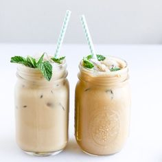 Mint iced Coffees - @sonomasyrupco on Instagram