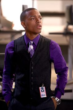 Shad Moss as Nelson on CSI: Cyber