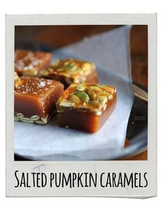 Salted Pumpkin Caramels | 17 Delicious Snacks To Make This Fall