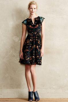 Larksong Corduroy Dress - anthropologie.com