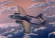 Northrop P-61 Black Widow one of the first aircraft specifically developed as a radar-equipped night fighter
