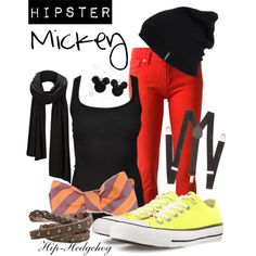 Hipster Mickey disney outfits