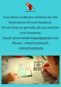 Need a software for your business? Contact us.  Email: powerandroidgrp@gmail.com Phone: +8801815264328, +8801674563939  #google #business #job #programming #code #studio #skill #android #ios #website #webdevelopment #iTunes #playstore #apps #top_software_developer #top_android_developer #best_it_company #Marketing #Business #Software #Apps #Mobile #Entrepreneur #Sales #Digital #Tools #top_software_company_in_bangladesh Software Apps, Business Software, Android Developer, Business Contact, Web Development, Programming, Itunes, Ios, Entrepreneur