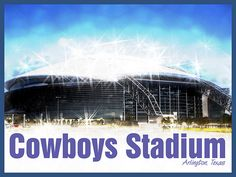Dallas Cowboys  Guinness Book Records World Largest Television Screen TV New One Billion Dollar Football Stadium Arlington Texas NFL Football Team Tickets Architectural Sports Commercial Photography Framed 44r722