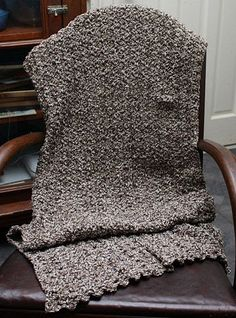 Prayer Shawl Pattern This is a very quick and easy pattern to work when you need a Prayer Shawl in a hurry. It's comfortable and warm an...