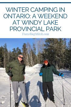 Winter Camping in Ontario: A Weekend at Windy Lake Provincial Park — travelingmitch Kayak Camping, Camping Hammock, Campsite, Ontario Camping, Ontario Travel, Backpacking Meals, Ultralight Backpacking, Newfoundland And Labrador, Winter Camping