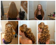 perfect style for long thick straight hair