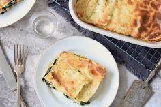 Lasagne met zalm en spinazie – 5 OR LESS